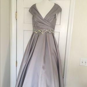 Gorgeous Silver Gown